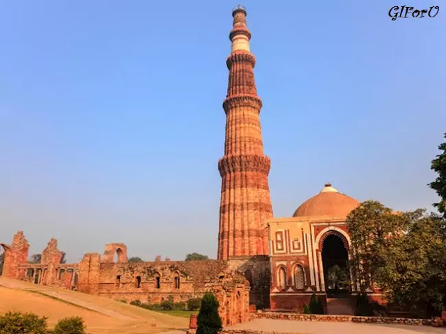 Qutub Minar-tourist places in delhi-GIforu