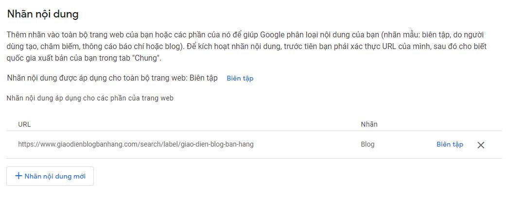 Hướng dẫn đăng ký Publisher Center của Google News cho blogspot
