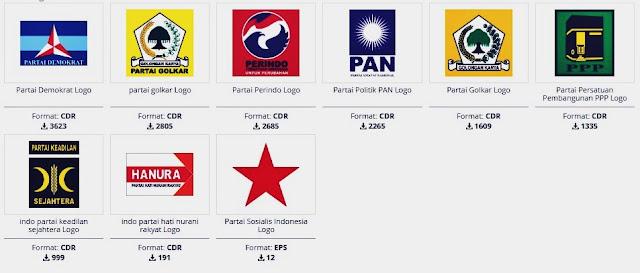 Download Logo Partai Siap Edit