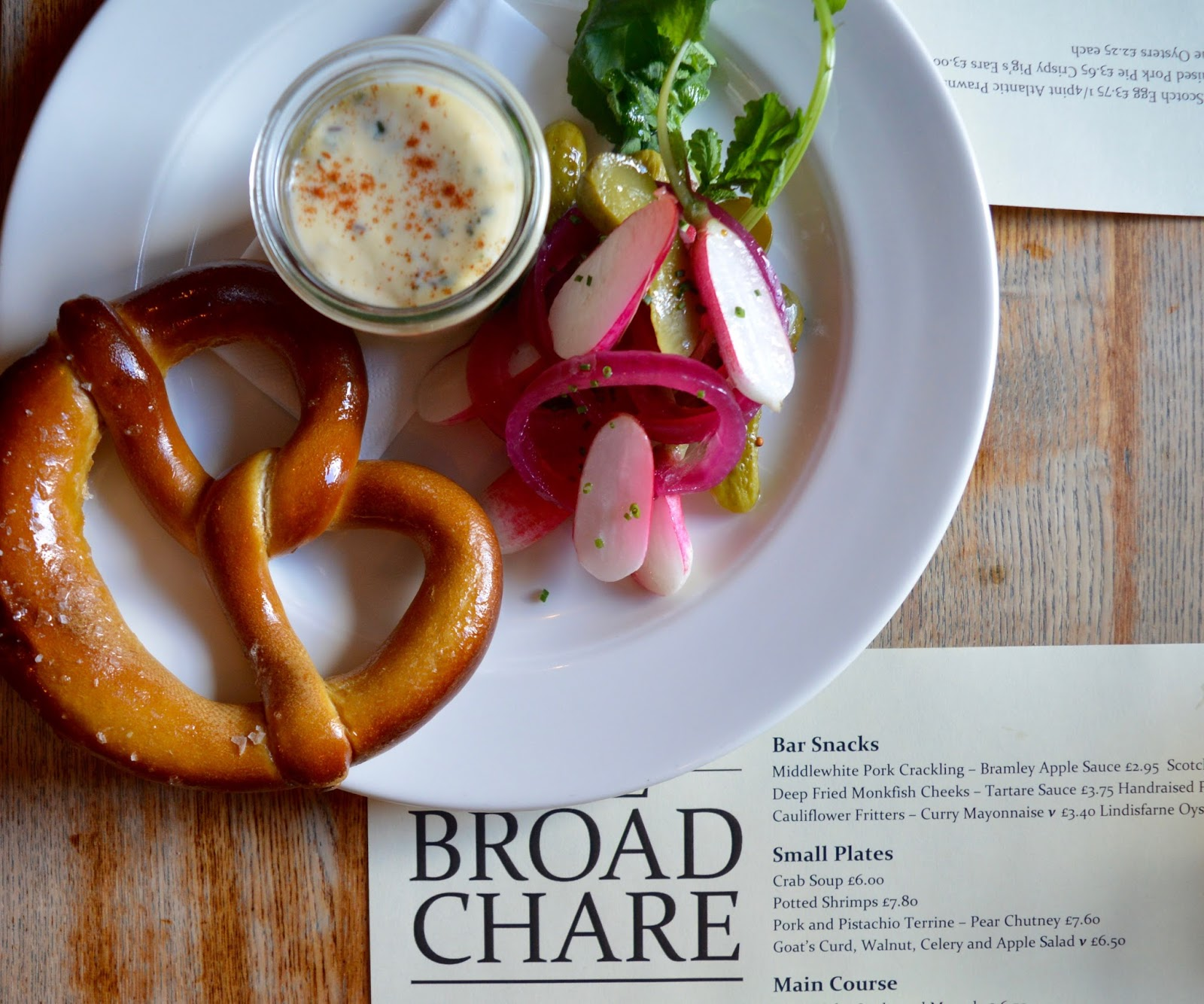 Oktoberfest 2016 | The Broad Chare Newcastle - Pretzel and beer cheese