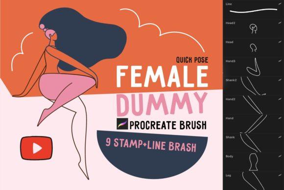 """Procreate Brush """"Female Dummy""""[Photoshop][6019741]"""