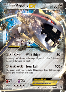 Steelix Steam Siege Pokemon Card