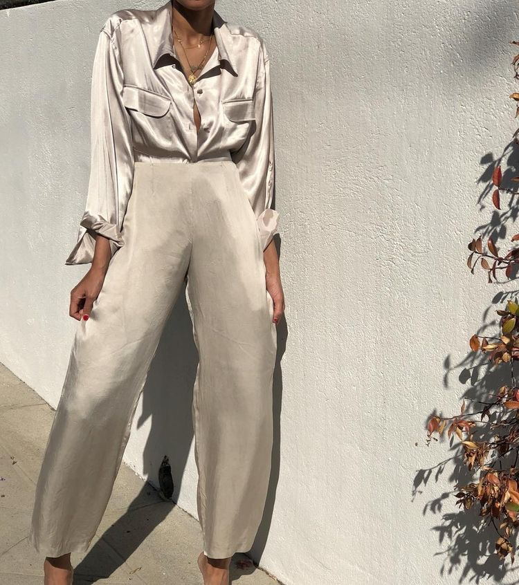 Style Inspiration | Weekly Chic: Silk
