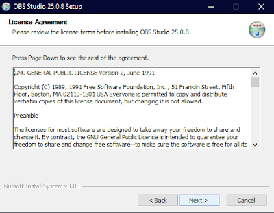 License Agreement OBS