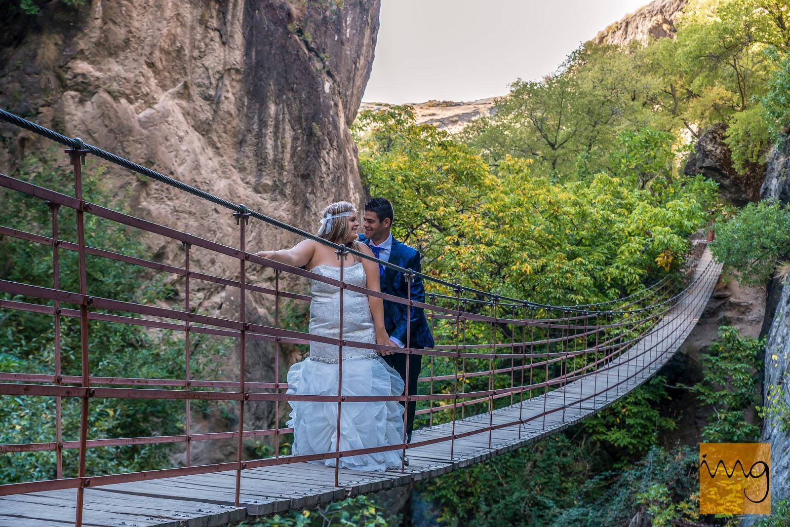 puente flotante de los Cahorros