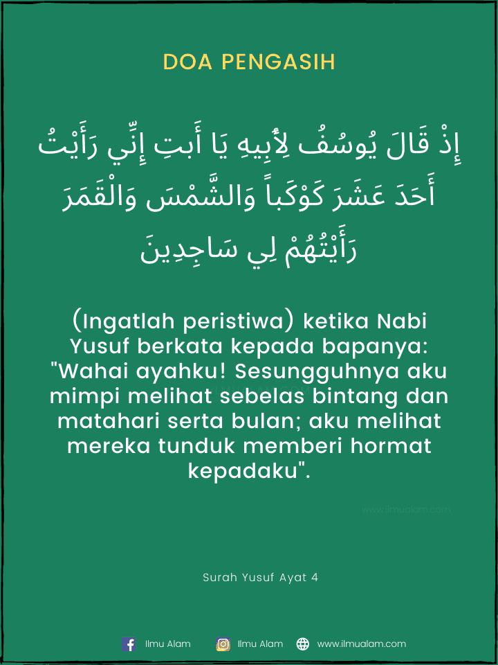 Doa Melihat Jodoh Melalui Mimpi : melihat, jodoh, melalui, mimpi, Pengasih, Quran