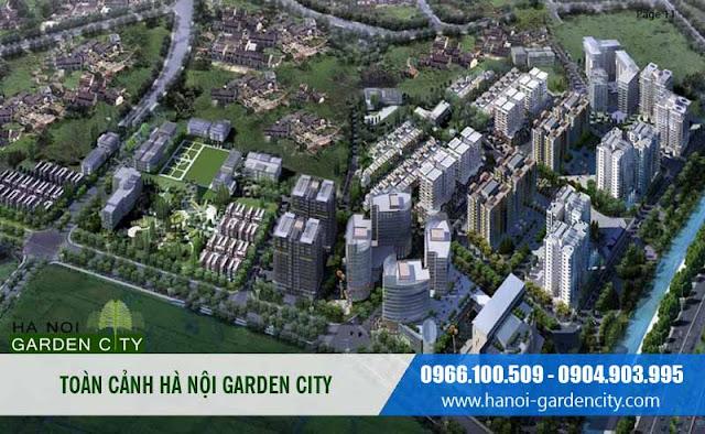 Biệt thự Garden Villas, Biệt thự Garden City Long Biên