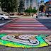 """""""Oraşul meu din mozaic"""": Lucrările de artă de la trecerile de pietoni vor fi tratate cu o soluţie antiderapantă"""