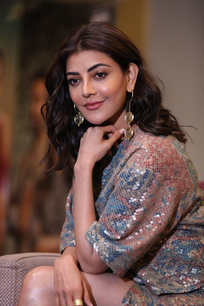 Actors Gallery: Kajal Aggarwal Interview Pictures