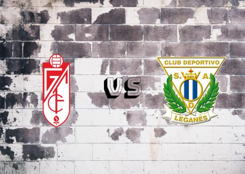 Granada vs CD Leganés  Resumen