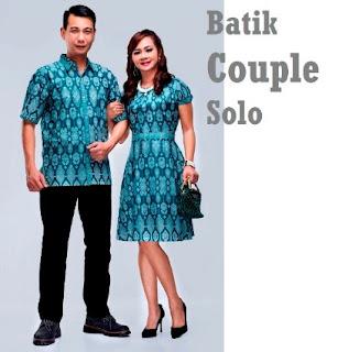 Model terbaru baju pasangan anak muda motif batik