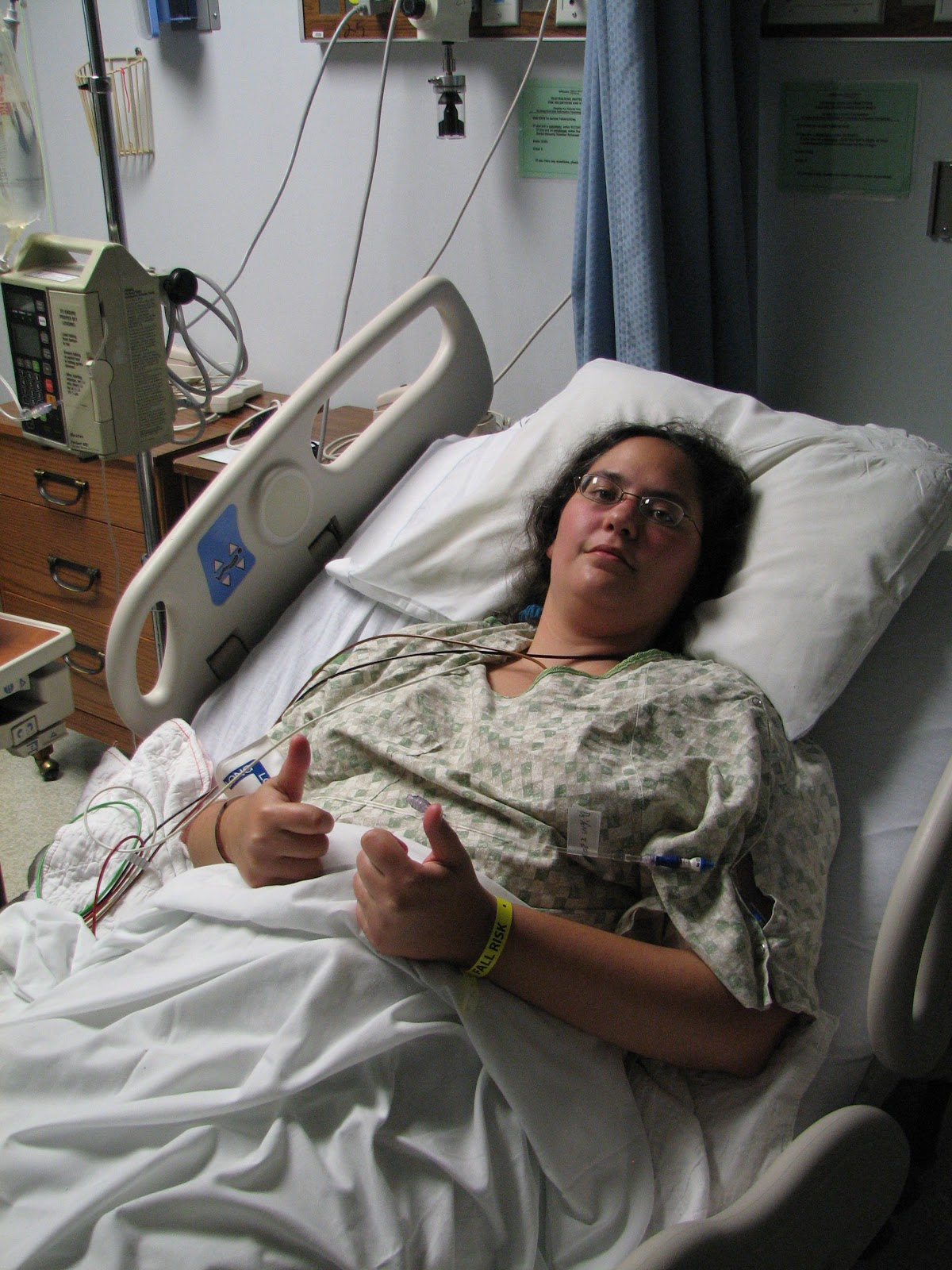 Colonoscopy Room: Turner's Tokens: My GBS Experience: Hospital To Half