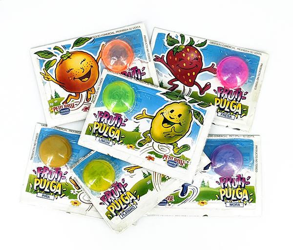 Regalo promocional Danone Fruti-Pulgas