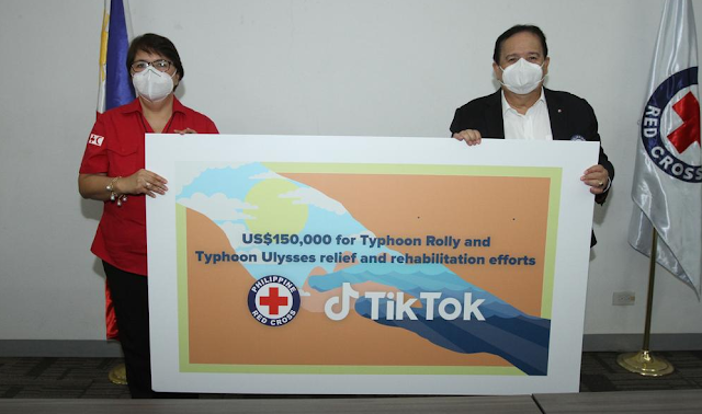TikTok Philippines Donation Philippine National Red Cross