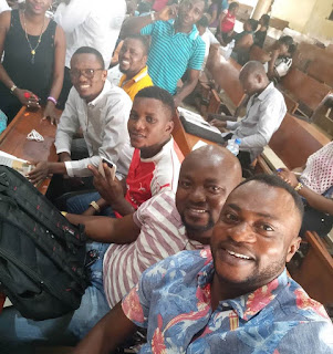 Actor Odunlade Adekola shares photo of himself with UNILAG cousemates