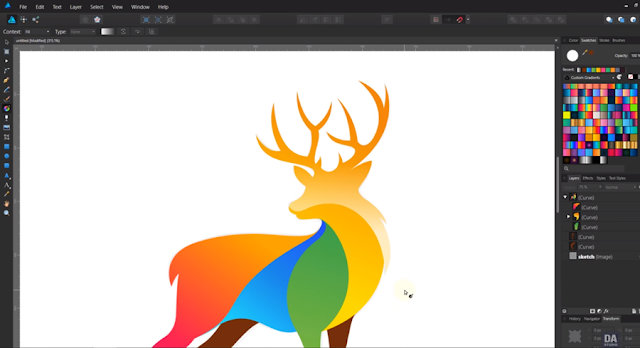 Alternatif Aplikasi Desain Grafis affinity desainer