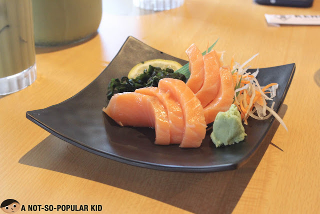Salmon Sashim of Kenshin Japanese Restaurant