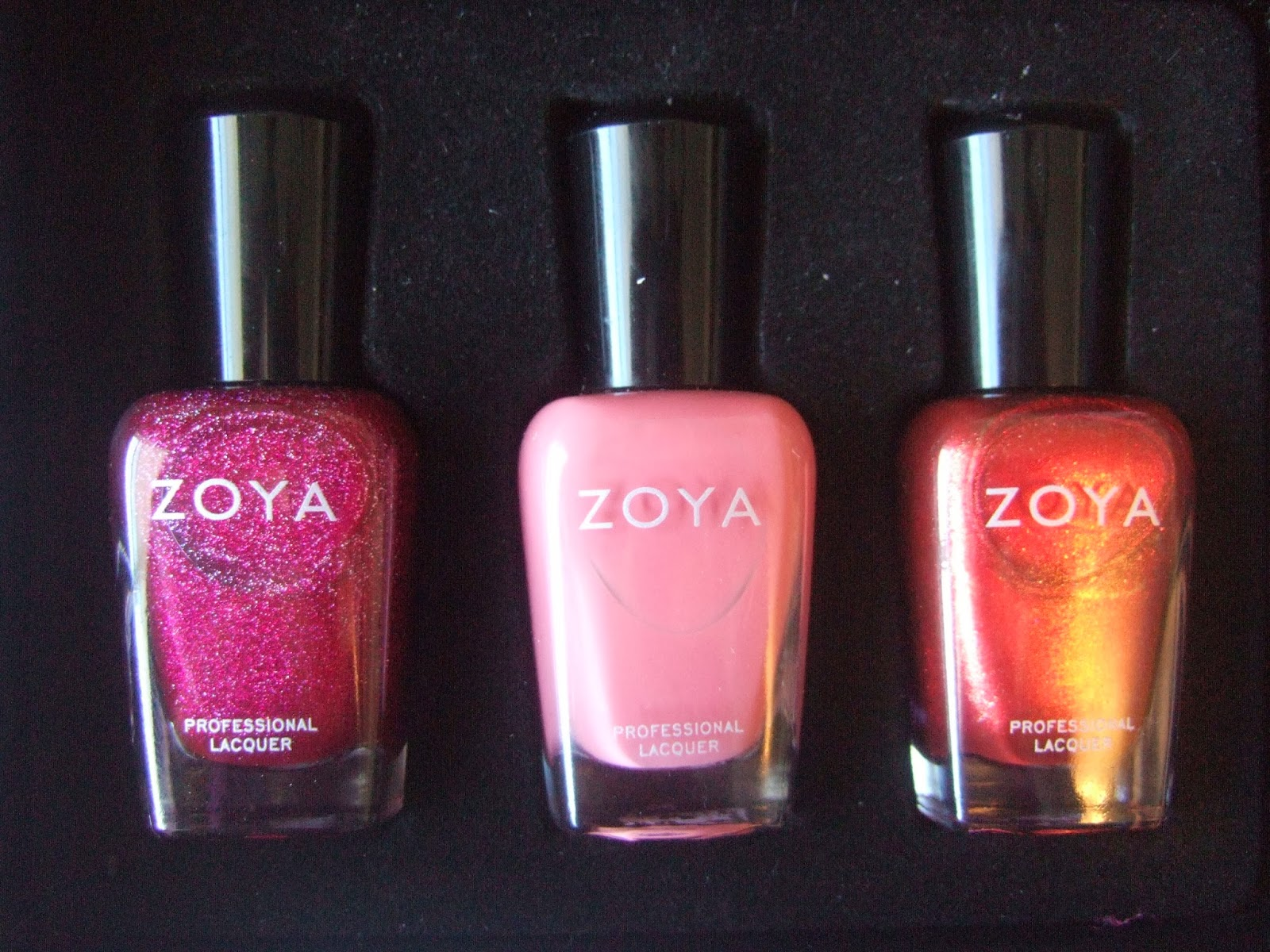 Zoya Haul with swatches