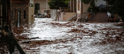 Bloomberg: «Υποτροπική η καταιγίδα που προκάλεσε 21 θανάτους στην Ελλάδα»