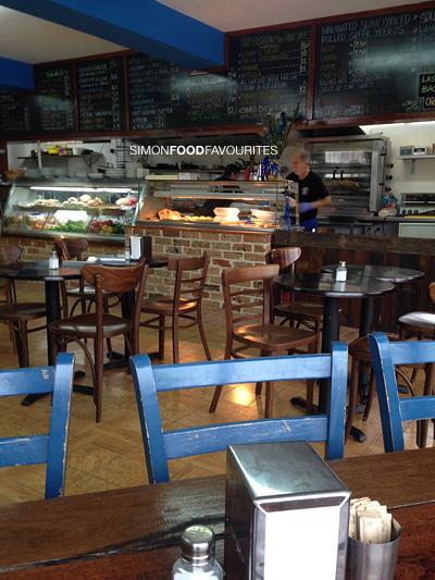 Papou S Kitchen Cafe Menu