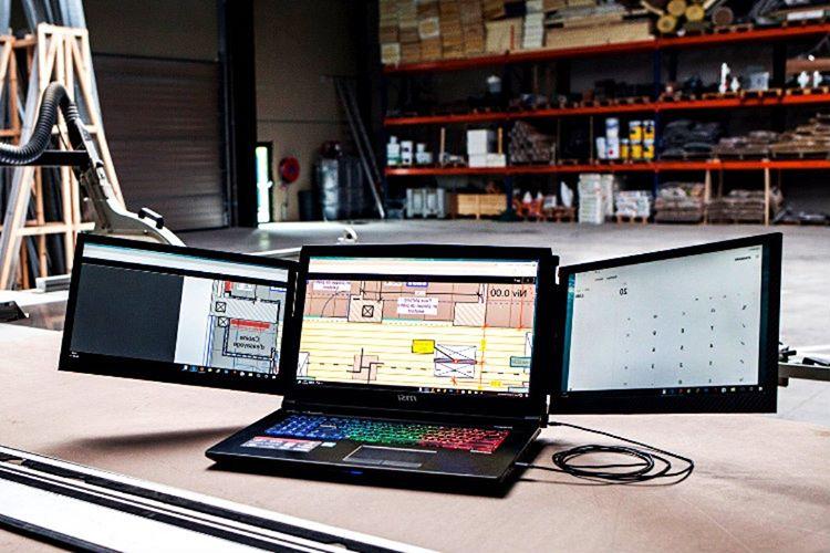 Slidenjoy kullanıcılara taşınabilir harici ekran sunmaktadır.