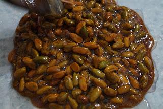 ricetta croccante di pistacchi