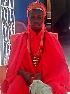 Teenage Boy Becomes King In Ondo State Following Death Of His Father (Photos)