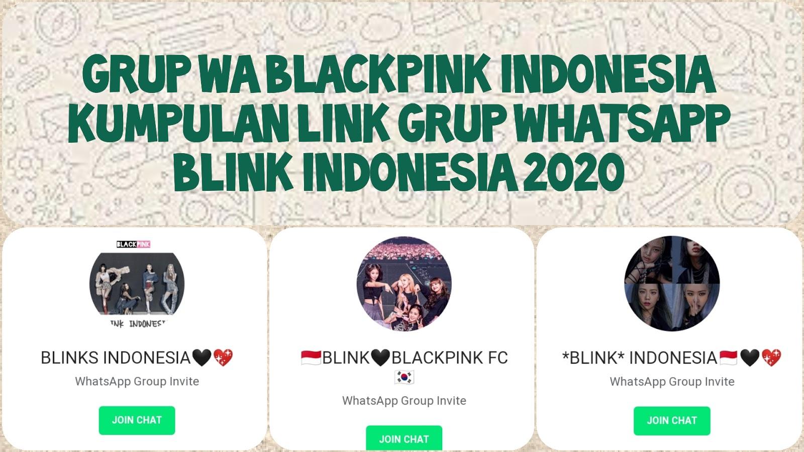 99 Link Grup Wa Blackpink 2021 Indonesia Internasional