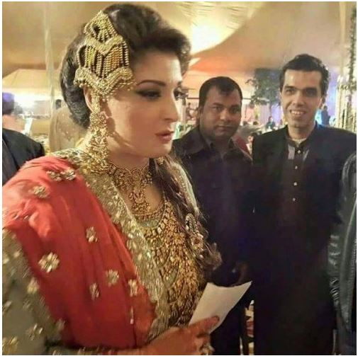 Maryam Nawaz Wedding Pictures Revealed Out.  At Last Hungama of Maryam Nawaz Sharif Daughter Mehrul Nisa Wedding end safely. Here is some pictures of Mehul Nisa , that shared by Maryam Nawaz Sharif Twitter Account.   Near About 1500 Guests were invited on Jati Umra to participated this mega event of Sharif Family.   Mehul Nisa was looking gorgeous and Beautiful on here wedding. May God Blessed with his Husband, maryam nawaz sharif, mehrul nisa wedding pictures, wedding pictures of maryam nawaz daughter, maryam daughter wedding picture, weddings pictures of Maryam nawaz sharif,