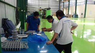 Project Racking System PT. Kensaki Polimer Indonesia