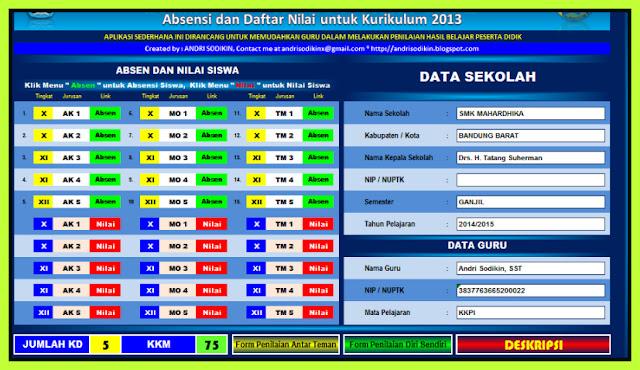 Download Aplikasi Perangkat Administrasi Guru Update Terbaru