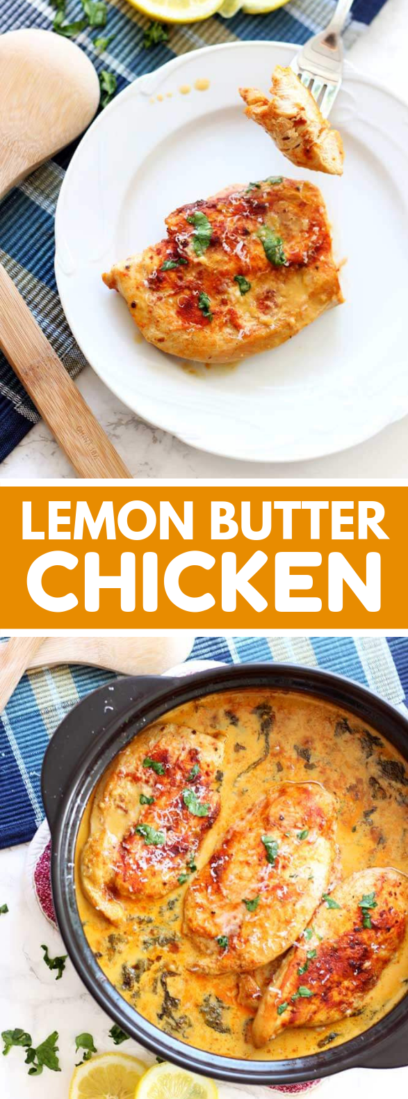Lemon Butter Chicken #dinner #glutenfree