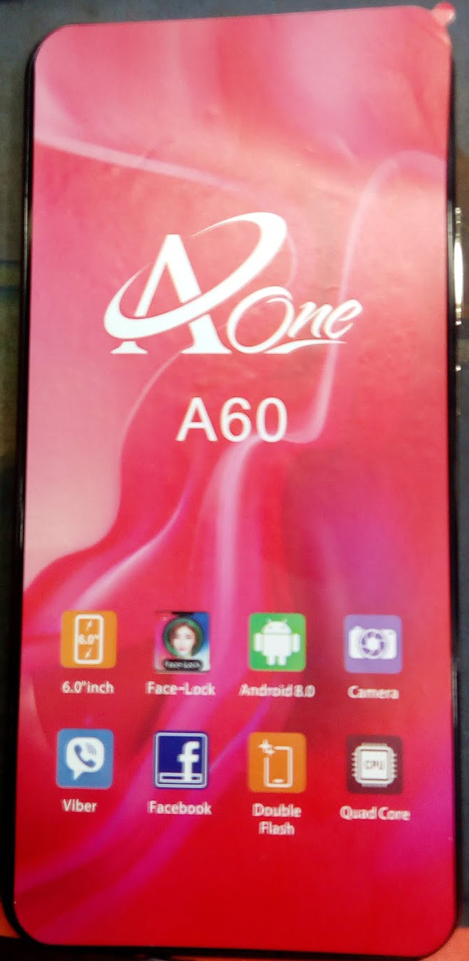 AONE A60 FLASH FILE MT6580 ANDROID 8.0 FIRMWARE