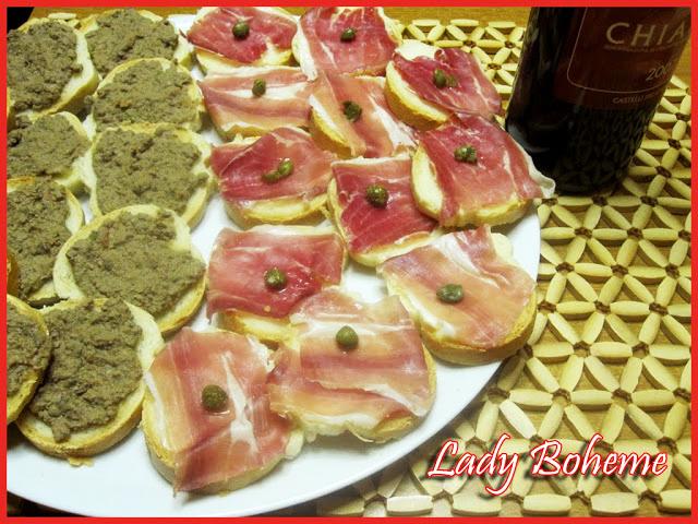 hiperica di lady boheme blog di cucina, ricette facili e veloci. Ricette antipasto toscano, alette di pollo e melanzane grigliate