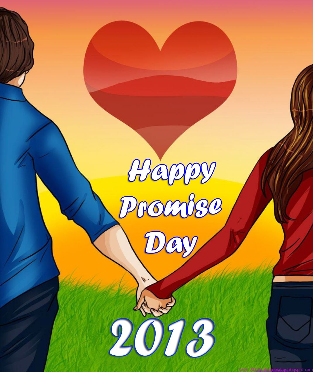 Happy Promise Day Hd Wallpapers 2013 Read Read Loved