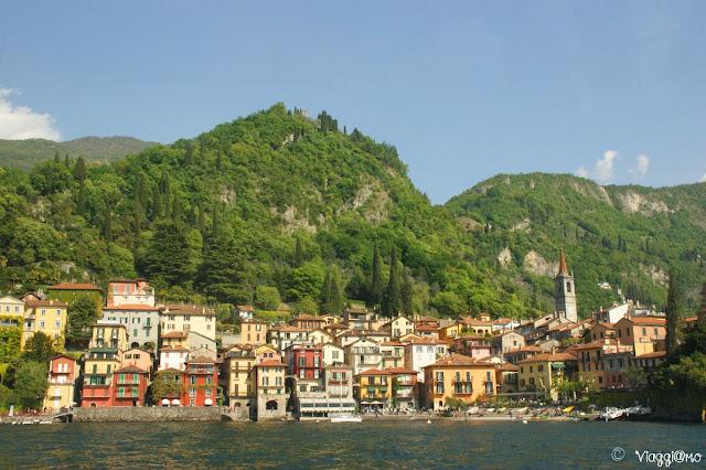 Varenna vista dal Lago di Como