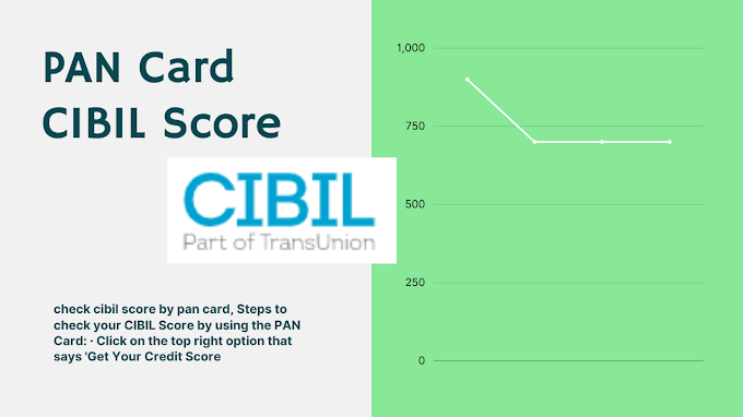 Know Your PAN Card CIBIL Score: What Is The CIBIL Score And Why Do You Need It?