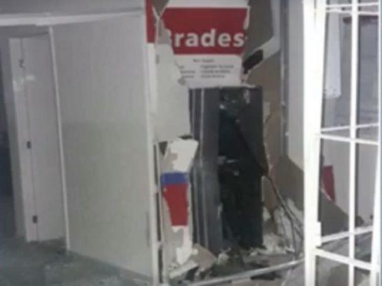 Mais uma agência bancária é explodida na Paraíba