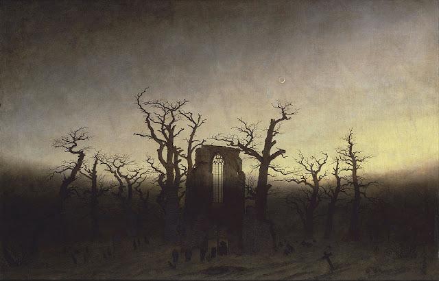 Caspar David Friedrich, The Abbey in the Oakwood, 1810