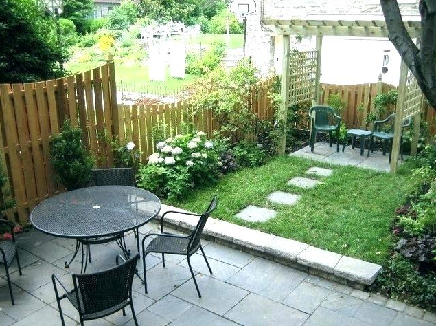 SMALL OUTDOOR GARDEN DESIGN IDEAS