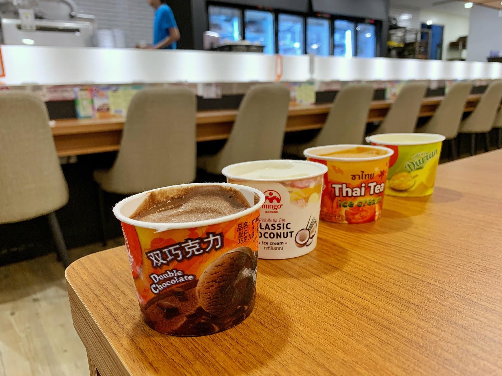 泰國知名品牌冰品【明果冰淇淋】