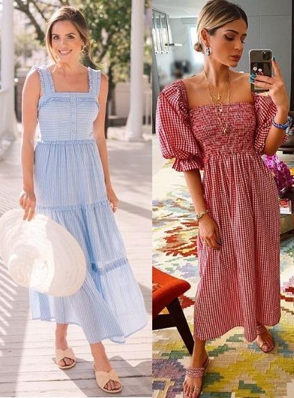12 Looks inspiração com vestido, Julia Berolzheimer, Thássia Naves