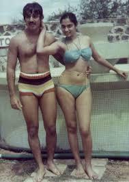 Jayamalini in bikini