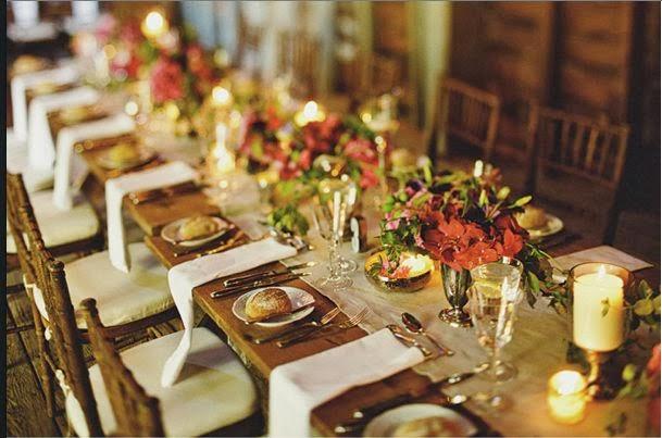 Decoration Table Rectangulaire Bois