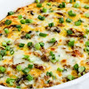 LOW-CARB BREAKFAST CASSEROLE WITH ITALIAN SAUSAGE