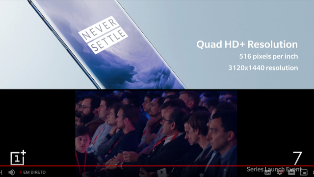 OnePlus 7 Pro e e Oneplus 7 - Apresentação Oficial