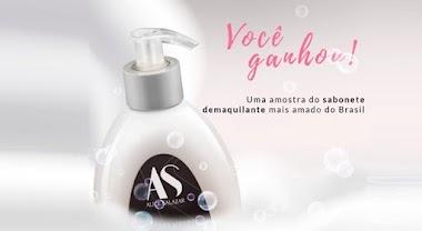 Você ganhou uma Amostra Grátis do Sabonete Demaquilante mais amado do Brasil! Veja como retirar o seu.