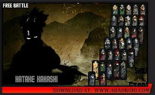 Download Naruto Senki Rise of the Ninja Dark War V1.0.6 Mod Apk
