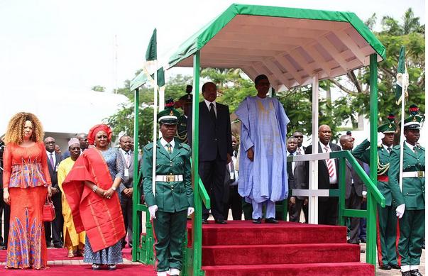 cameroon president paul biya in Nigeria to meet President Buhari