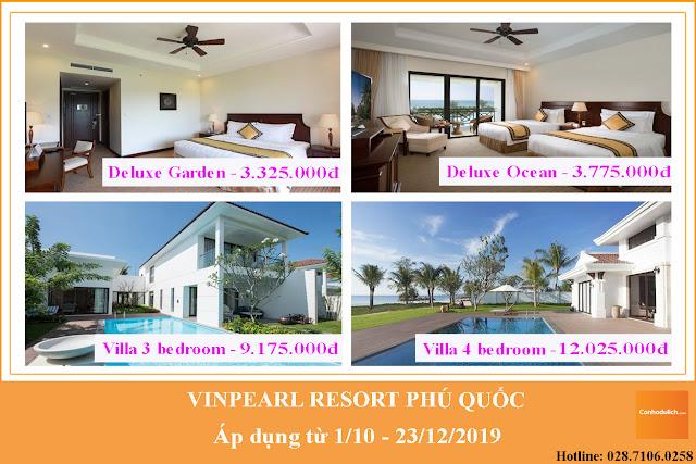 Khuyến mãi tại Vinpearl Phú Quốc resort